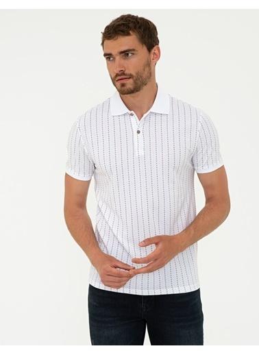 Pierre Cardin G021Gl011.000.1314030.Vr011 T-Shirt Bej
